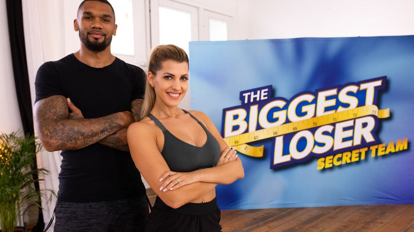 "Dominic und Sarah Harrison als Trainer des ""The Biggest Loser""-Secret-Teams"