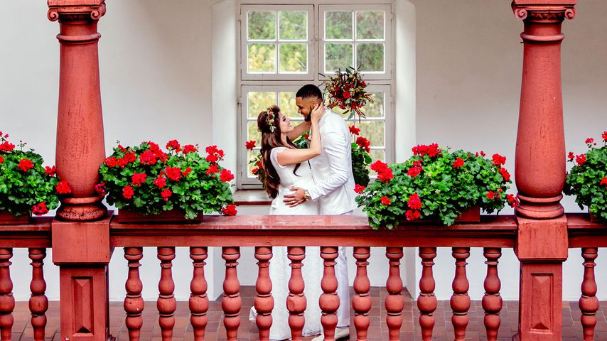 Endlich verheiratet! Sarah Nowak kann ihr Glück kaum fassen