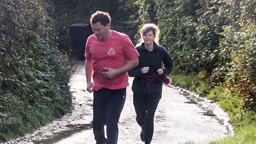 Nach Affären-Skandal: Dominic West und Frau joggen gemeinsam