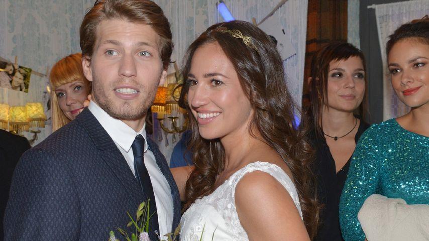 Dominiks (Raúl Richter) und Elenas (Elena Garcia Gerlach) GZSZ-Hochzeit