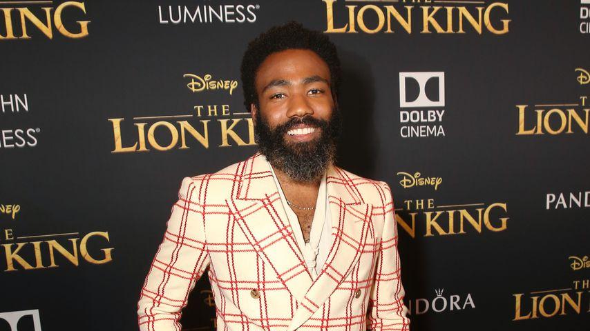 """Donald Glover bei der """"König der Löwen""""-Weltpremiere"""