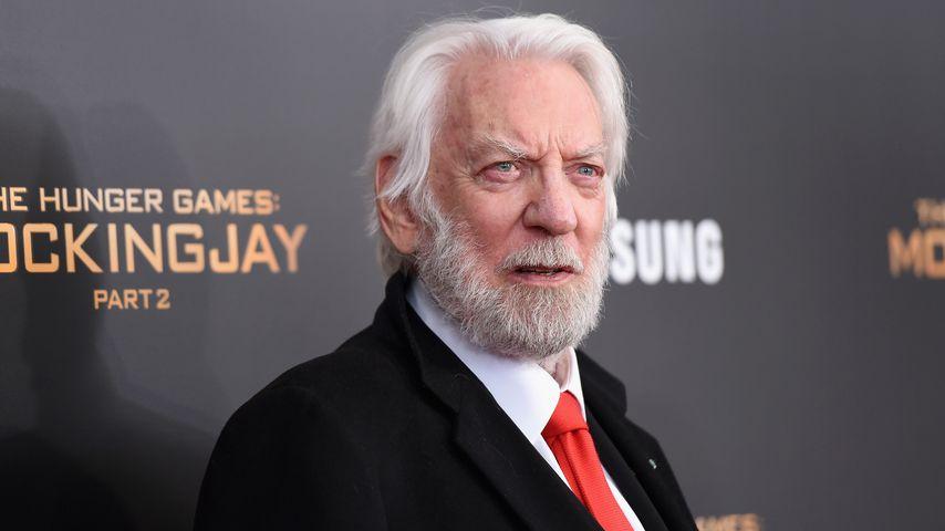 """Donald Sutherland bei der Premiere zu """"The Hunger Games: Mockingjay- Part 2"""""""