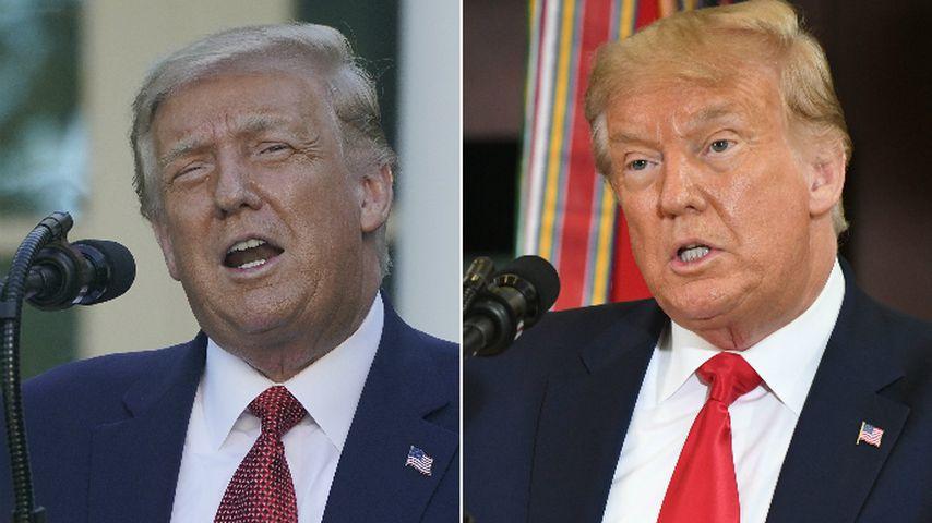 Netz amüsiert: Trumps blonder Schopf ist plötzlich ergraut