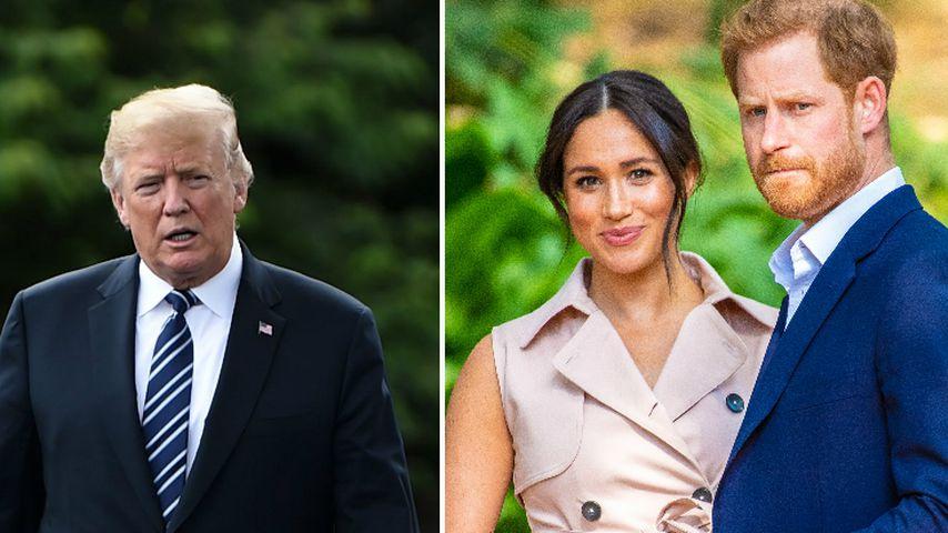 Donald Trump: Harry und Meghan müssen Security selbst zahlen