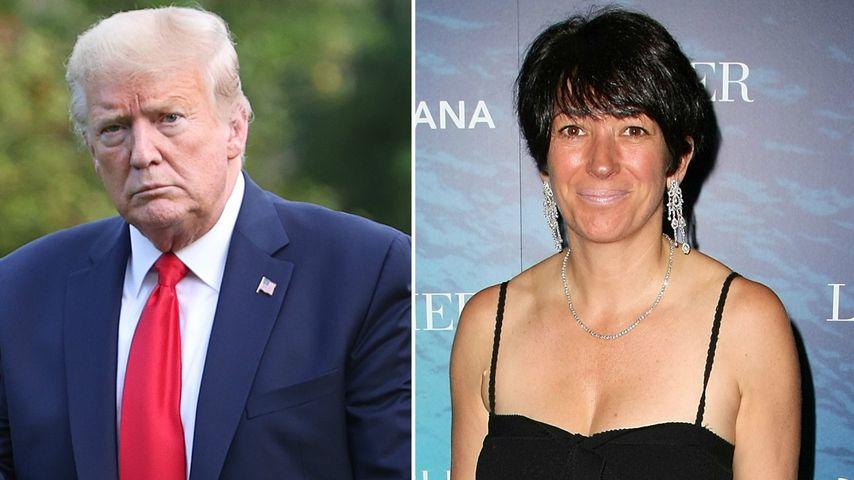 """Donald Trump wünscht Epstein-Komplizin Maxwell """"alles Gute"""""""