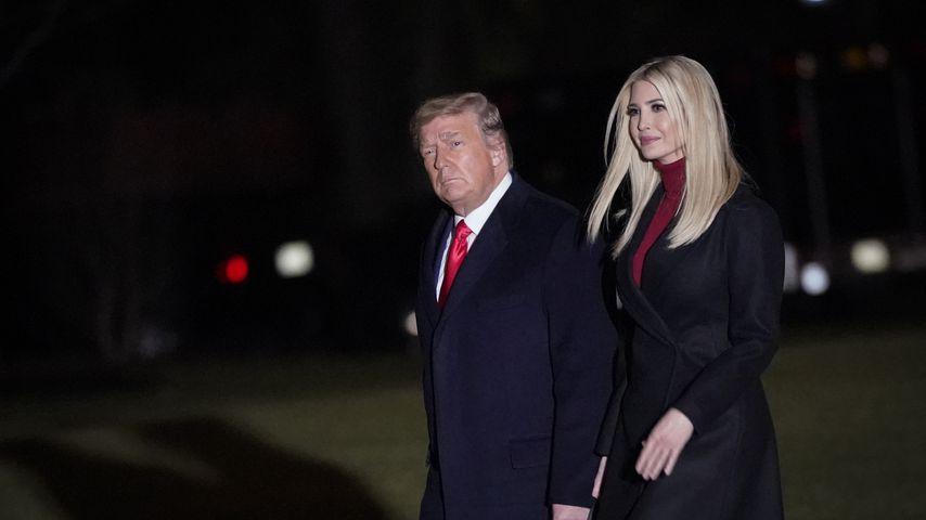 Donald Trump mit seiner Tochter Ivanka Trump im Januar 2021 in Washington, D.C.
