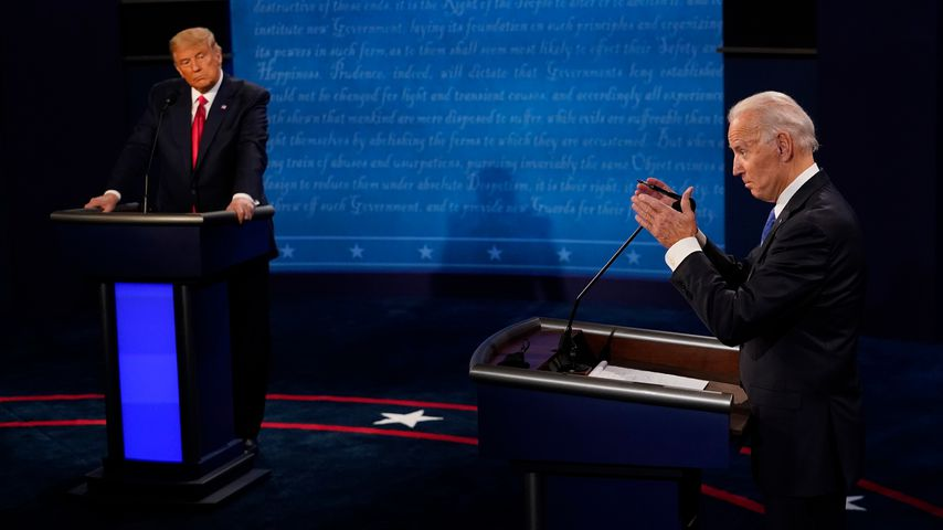 Donald Trump und Joe Biden, 2020