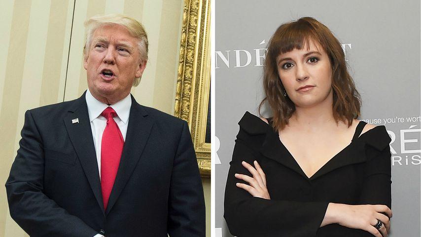 Die Donald-Trump-Diät? So half er Lena Dunham beim Abnehmen!