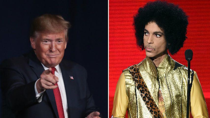 Purple Rain: Keine Musik von Prince! Donald Trump soll Versprechen gebrochen haben