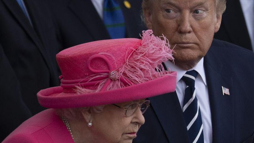 Donald Trump und Queen Elizabeth II. im Juni 2019