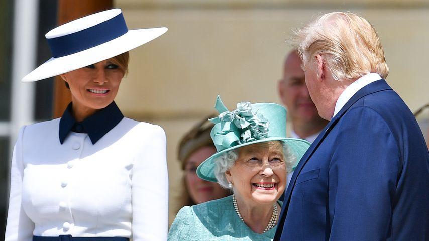 Trump Und Queen