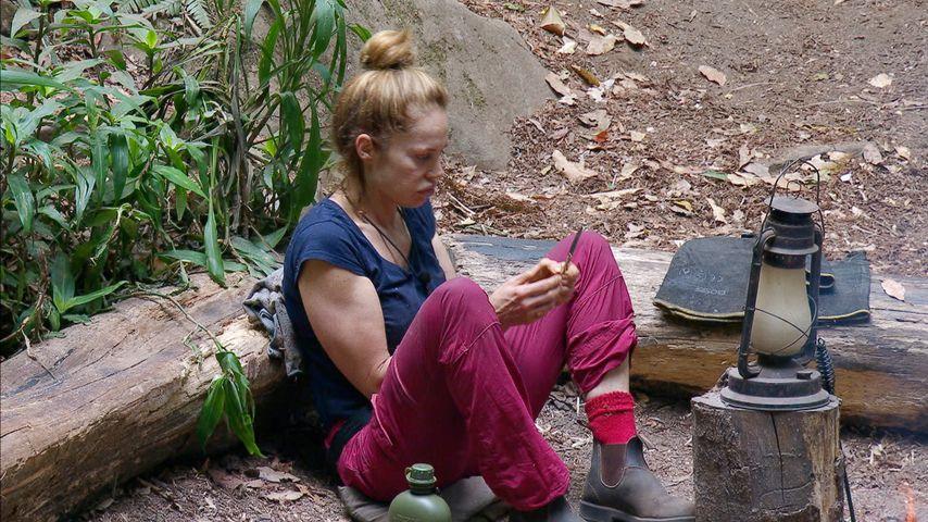 Doreen Dietel an Tag 13 im Dschungelcamp 2019