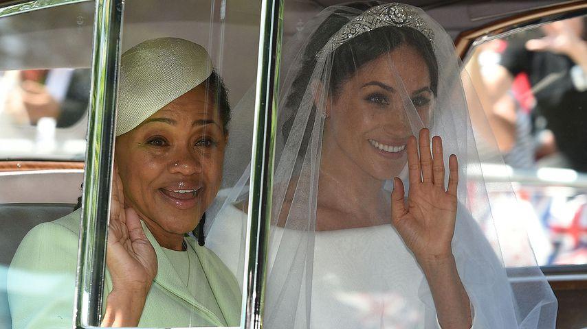 Doria Ragland und Herzogin Meghan bei der royalen Hochzeit