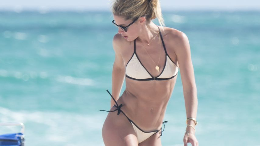 Doutzen Kroes am Miami Beach