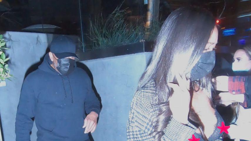Dr. Dre mit einer unbekannten Frau
