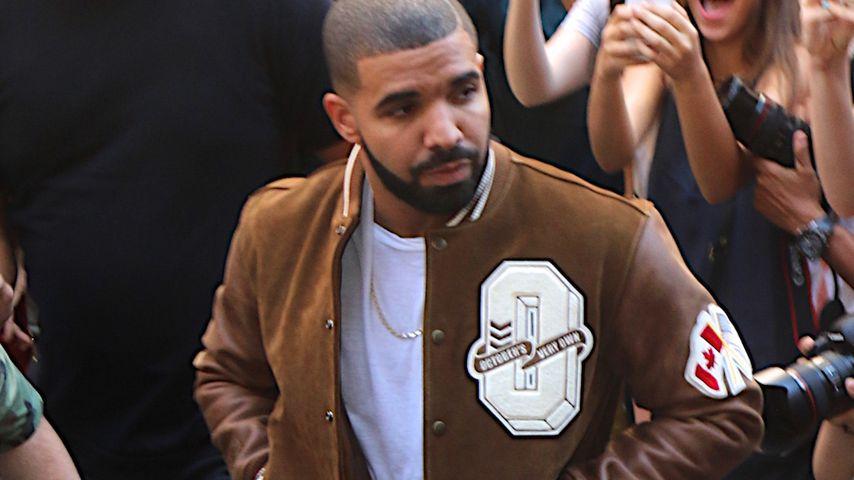 Drake nach einem Konzert