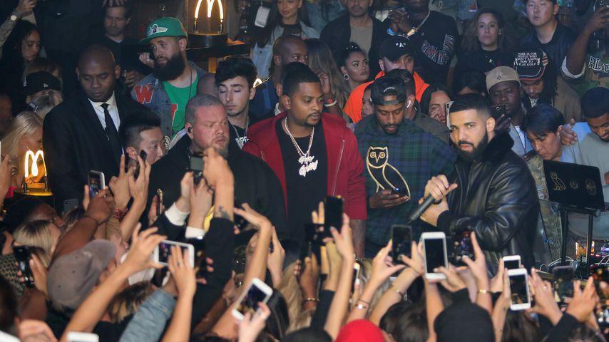 Drake: Polizeieinsatz nach Marihuana-Konsum