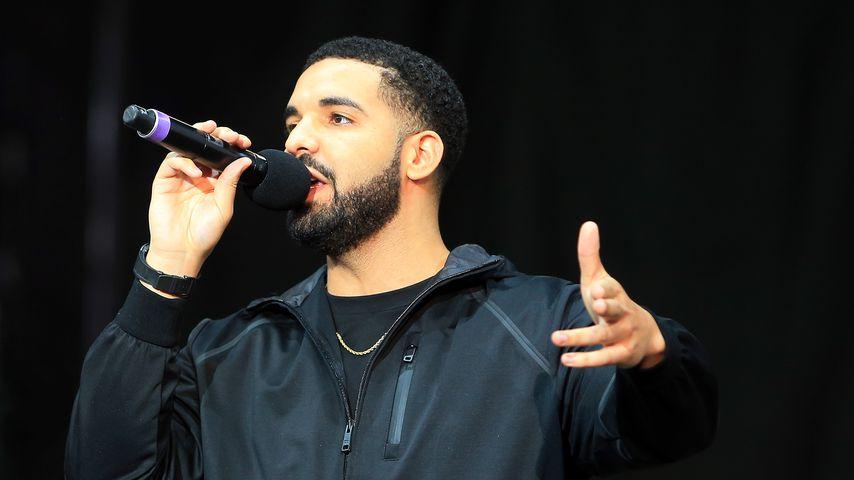 Drake bei einem Konzert in Toronto, Juli 2017