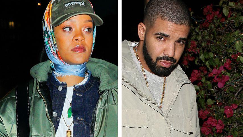 Nach On-Off-Liebe: Sind Rihanna & Drake noch befreundet?