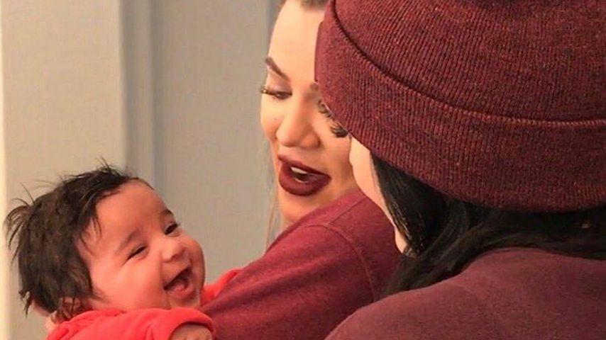 Kleine Strahlemaus: Dream lacht mit Tante Khloe Kardashian