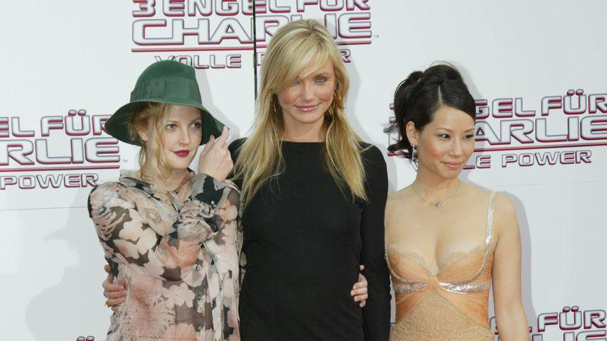 Drew Barrymore, Cameron Diaz und Lucy Liu in Berlin