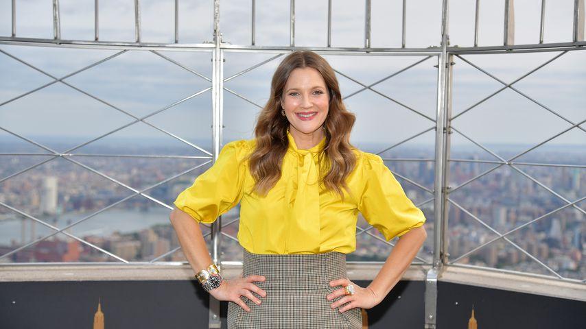 Drew Barrymore, 2020 auf dem Empire State Building