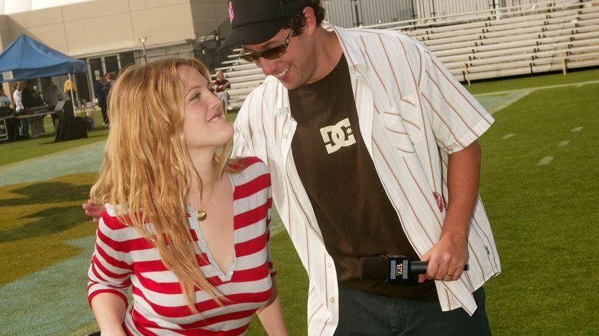 Drew Barrymore und Adam Sandler, 2004