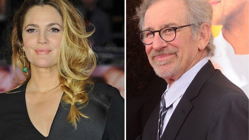 1. Begegnung: Drew Barrymore log Steven Spielberg nur an