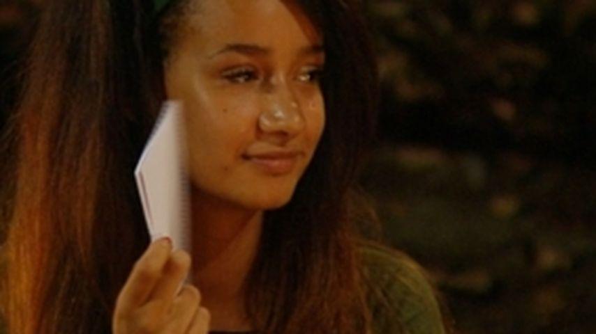 Süße Botschaft: Gabby bekommt Dschungel-Liebespost