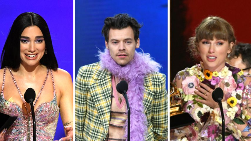 Grammys 2021: Das sind die schönsten Outfits der Stars!