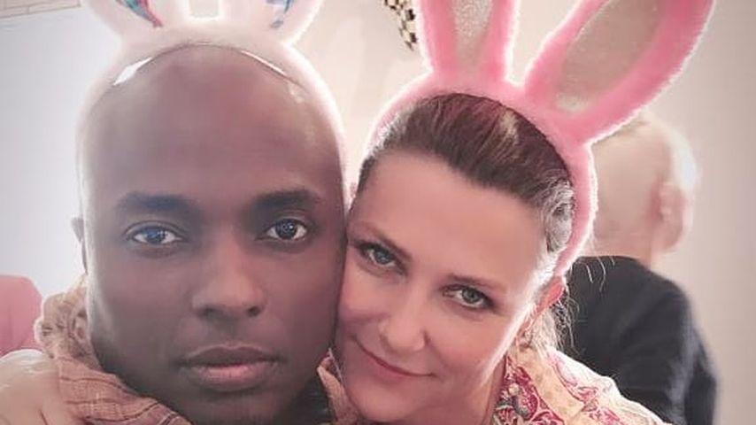 Durek Verrett und Märtha Louise von Norwegen, Ostern 2019