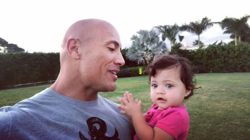 Süßer Moment: Dwayne Johnson erklärt Tochter seine Ziele!