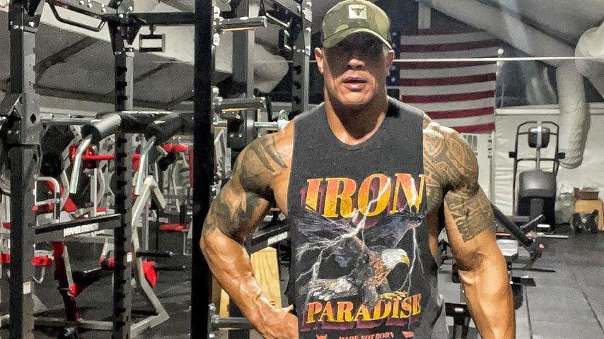 Massive Beinmuskeln! The Rock (49) haut Fans mit Gym-Pic um