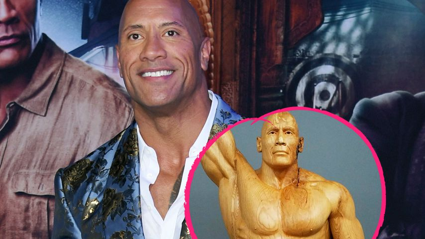 "Knackig! Dwayne ""The Rock"" Johnson gibt's jetzt aus Holz!"