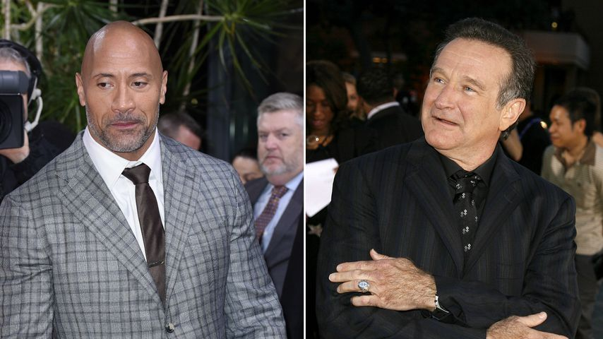 "Robin Williams' Nachfolge: The Rock bei ""Jumanji"" so nervös!"