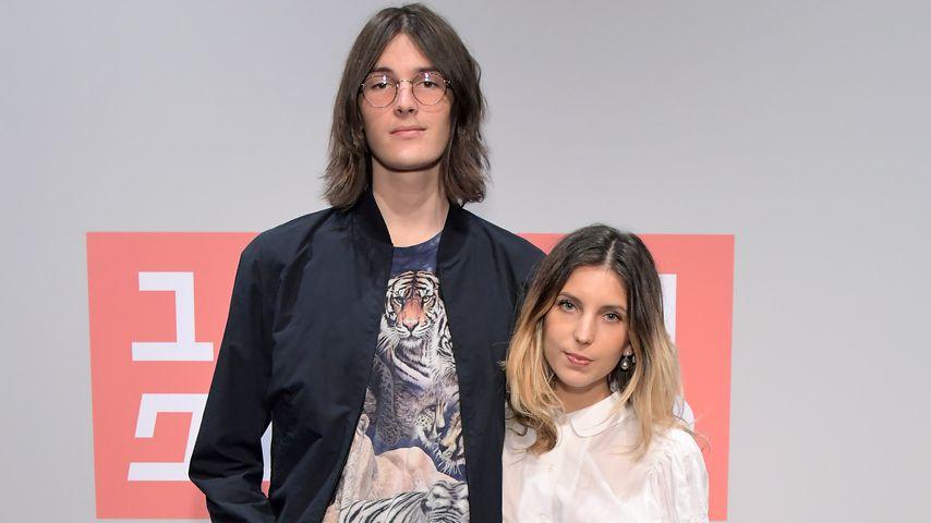 Dylan Brosnan und seine Freundin Avery Wheless