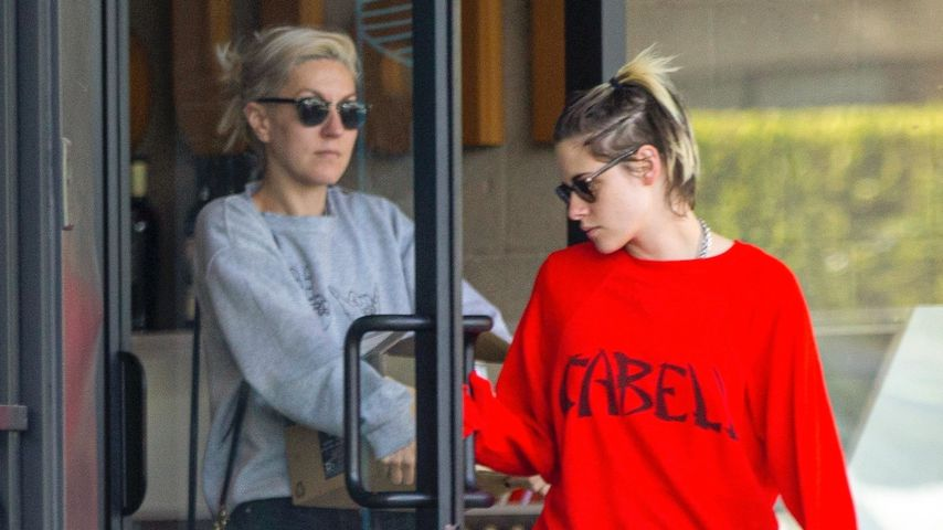 Dylan Meyer und Kristen Stewart in Los Angeles
