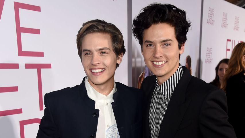 """Dylan und Cole Sprouse bei der """"Drei Schritte zu Dir""""-Premiere 2019"""