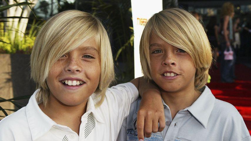 Dylan und Cole Sprouse bei einer Disney-Premiere