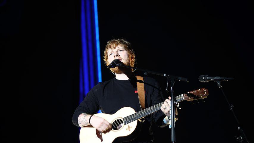 Ed Sheeran bei einem Auftritt in Auckland, Neuseeland