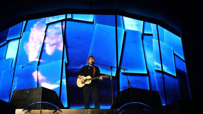 Ed Sheeran im Jahr 2018 in Auckland, Neuseeland
