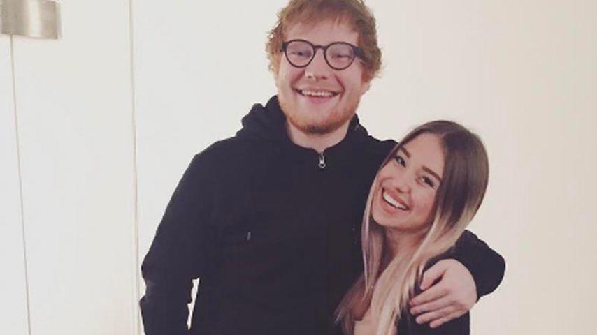 Star-Alarm bei YouTube: Bibi Heinicke gurgelt mit Ed Sheeran