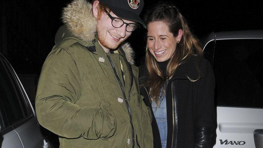 Ed Sheeran und Cherry Seaborn in London
