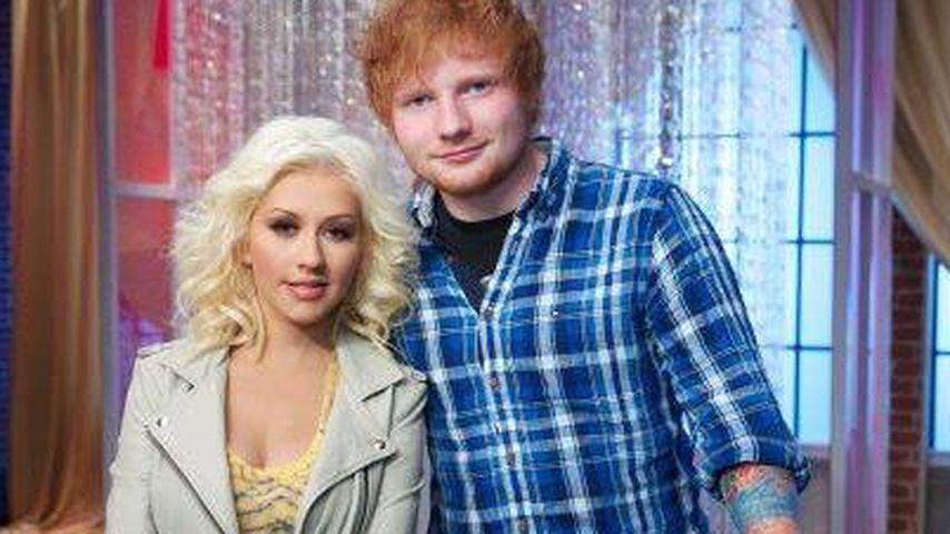 "A-Team! X-Tina mit Ed Sheeran bei ""The Voice"""