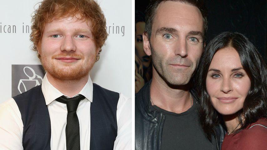 Ed Sheeran: Pastor auf der Hochzeit von Courteney Cox?