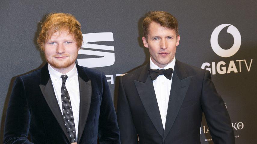 Große Ehre: James Blunt macht Ed Sheeran zum Patenonkel!