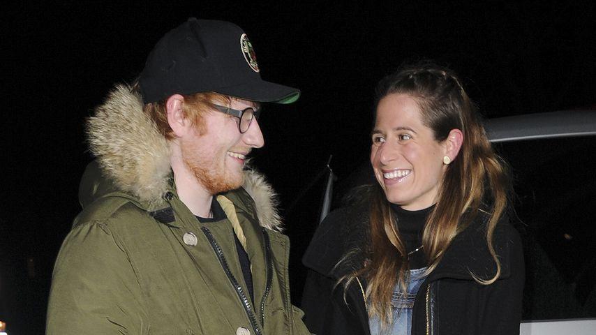 Geheime Ed Sheeran-Hochzeit? Sein Kumpel heizt Gerüchte an!