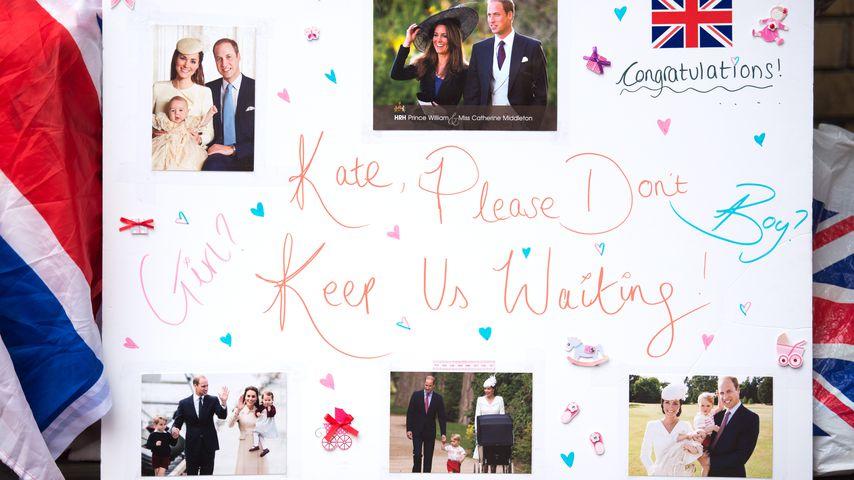 Herzogin Kate im Krankenhaus - Wehen haben eingesetzt