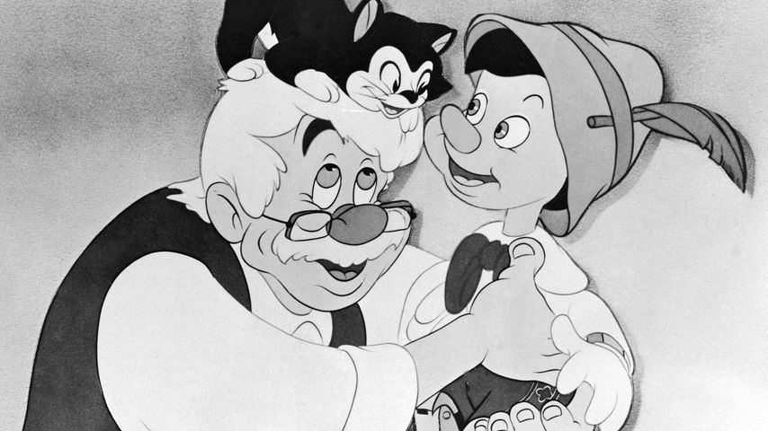 """Eine Szene aus """"Pinocchio"""" 1940"""