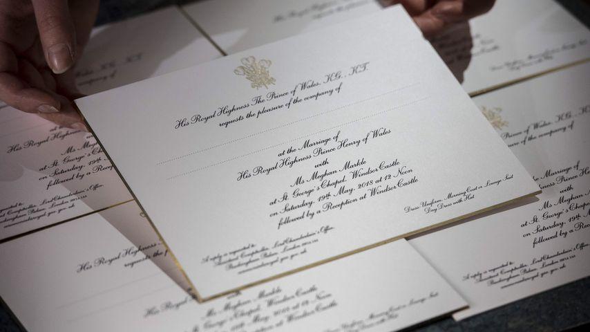 Einladung von Prinz Harry und Meghan Markle